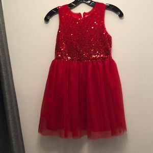 Cat and Jack red dress 7/8